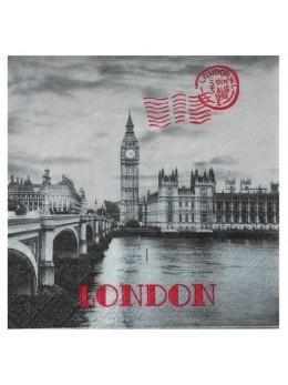 20 Serviettes Londres Angleterre