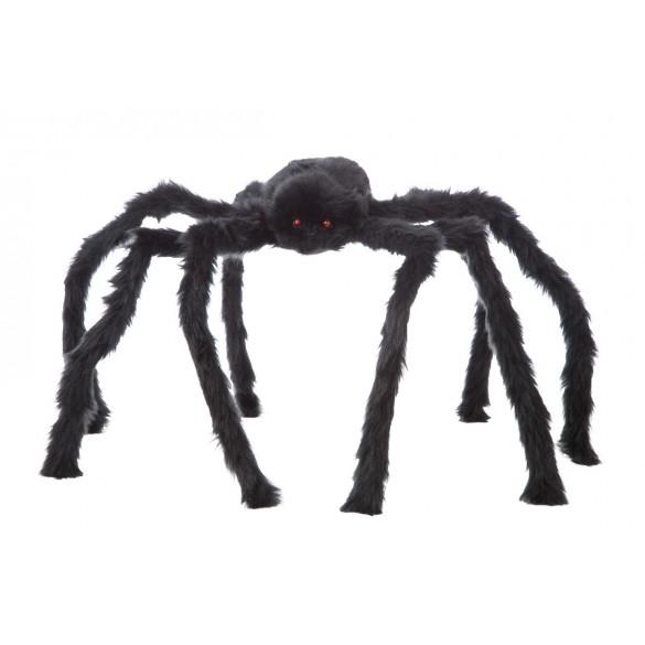 Déco Araignée velue 80cm