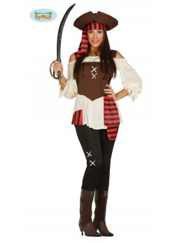 Déguisement femme capitaine pirate