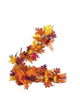 Guirlande feuilles d'automne