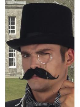 Moustache Baron noire