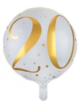 Ballon alu 20 ans