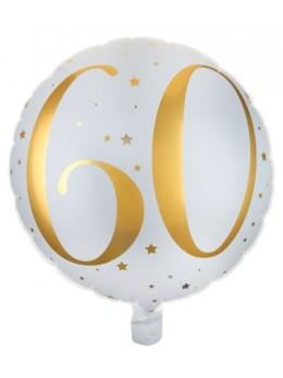 Ballon alu 60 ans