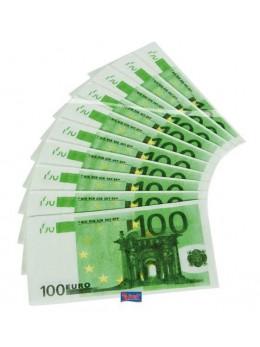 10 serviettes 100 euros