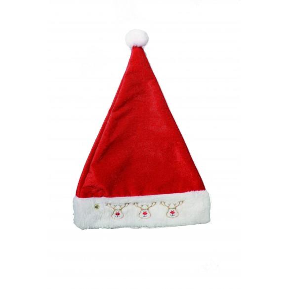 2254cbd7a67d0 Bonnet de père Noël pas cher - accessoires Noël| Fête en folie