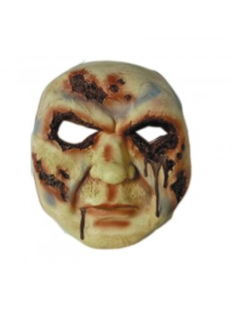 Masque visage sanglant vinyl