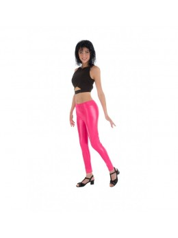 Leggings fluo rose