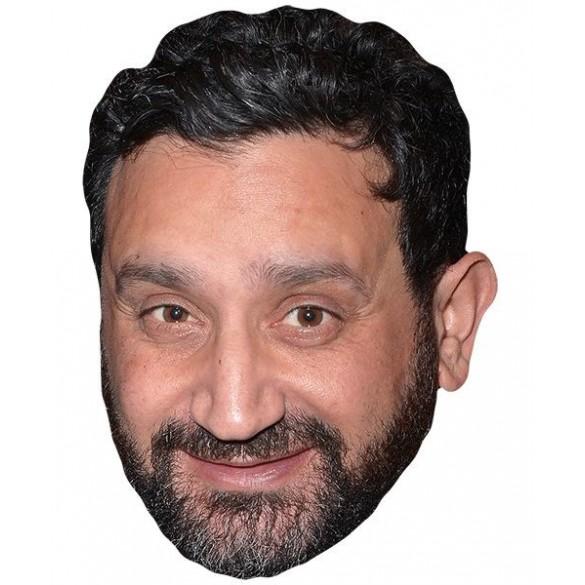 Masque carton Cyril Hanouna