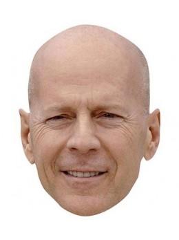 Masque carton Bruce Willis