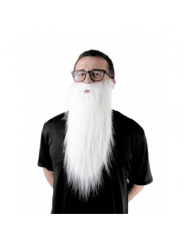 Barbe longue blanche
