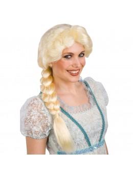 Perruque princesse des neiges