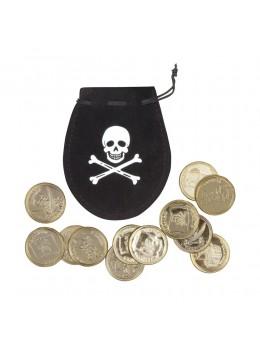 Set poche de pirate avec 12 pièces