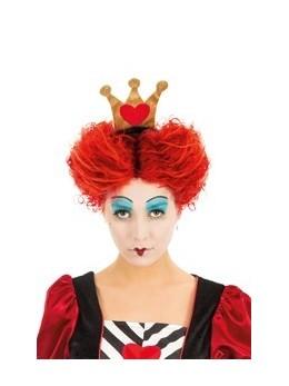 perruque reine de coeur