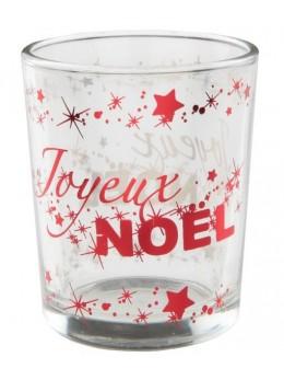 Photophore Noël rouge