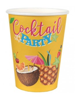 "10 gobelets carton ""cocktail party"""