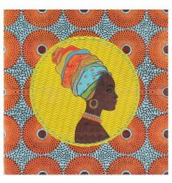 20 Serviettes lunch thème afro