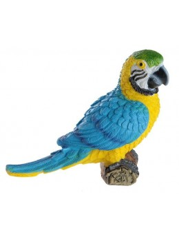 Perroquet résine 9cm