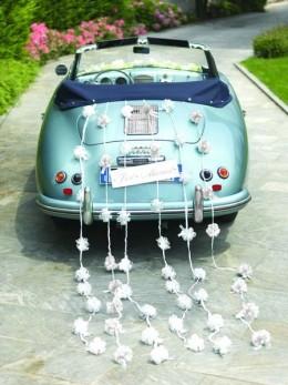 Kit guirlande 10 noeuds automatique bolduc blanc