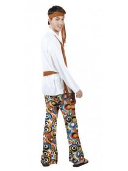 Déguisement hippie flower homme