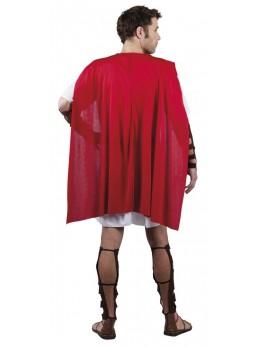 Déguisement gladiateur romain rouge