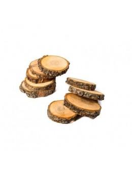 Sachet 500g rondins bois naturel