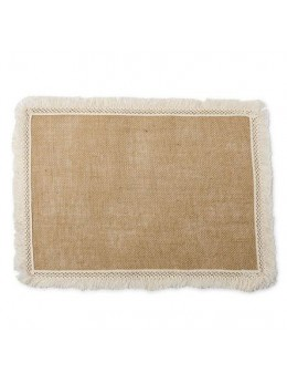Set de table jute et franges