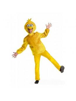 Déguisement mascotte marionette jaune