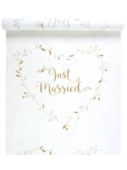 "Tapis ""Just Married"" or"