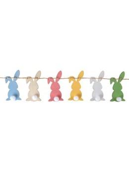 guirlande petits lapins