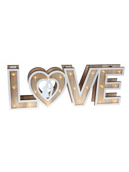"Lettres ""Love"" lumineuses"