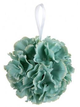 Boule de fleurs blanche 11cm