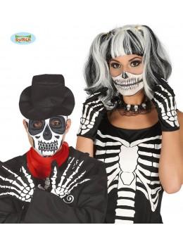 Gants de squelette