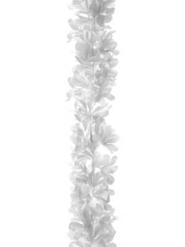 Guirlande de fleurs blanche