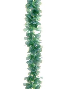 Guirlande de fleurs menthe