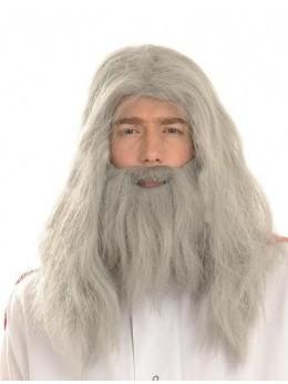 Perruque + Barbe Merlin