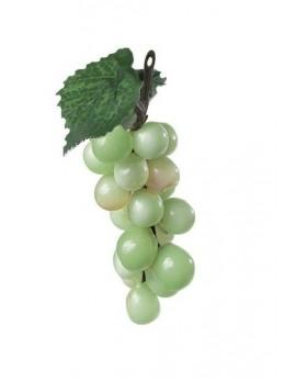 Mini raisin factice vert  9cm