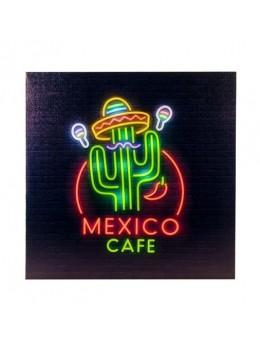 Décor tableau lumineux mexico 25 led