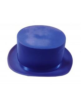 gibus haut de forme bleu