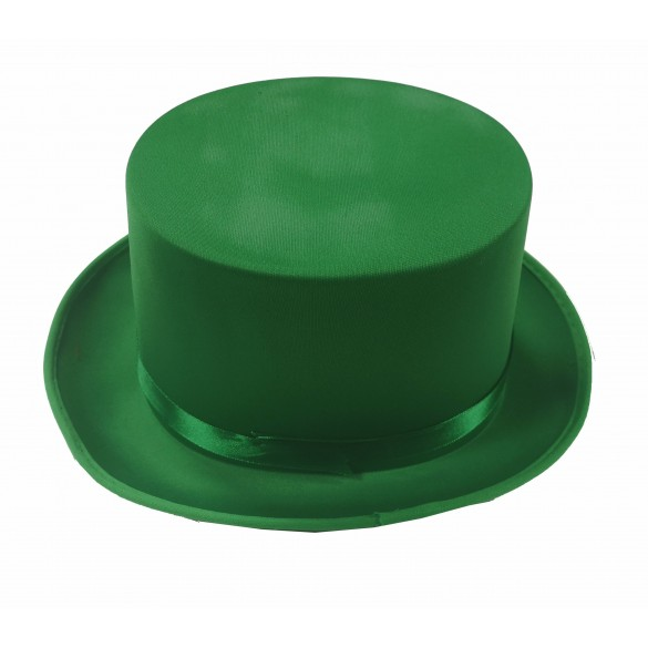 Chapeau haut de forme vert