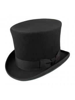 Chapeau haut de forme deluxe noir
