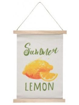 Suspension summer citron