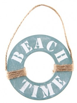 Suspension Beach time bleu