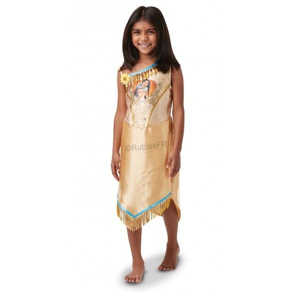 Déguisement Indienne Pocahontas Sequin Enfant Fêtes En Folie