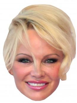 Masque carton Pamela Anderson