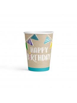 8 gobelets My Birthday Party