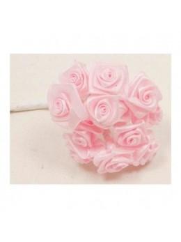 72 mini roses rose pastel