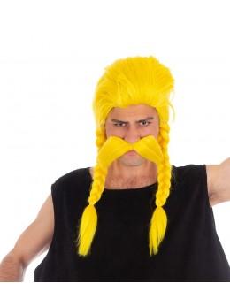 Set perruque et moustache Ordralfabetix