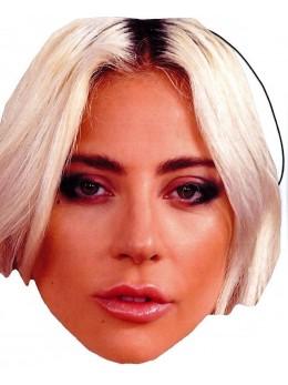 Masque carton Lady Gaga
