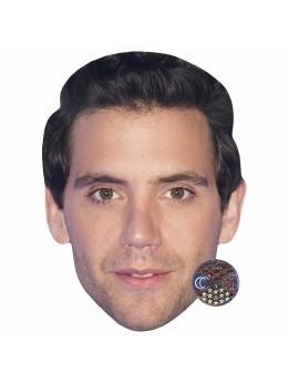 Masque carton Mika