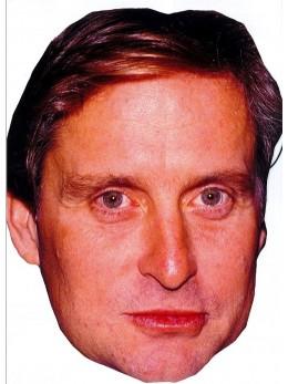 Masque carton Michael Douglas